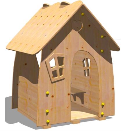 Casetta legno per bambini