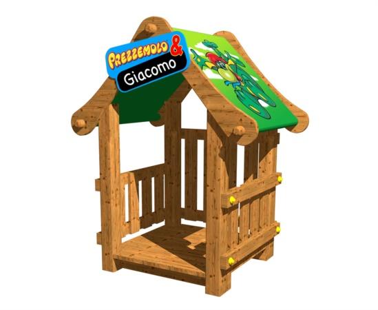 Casetta gioco da giardino