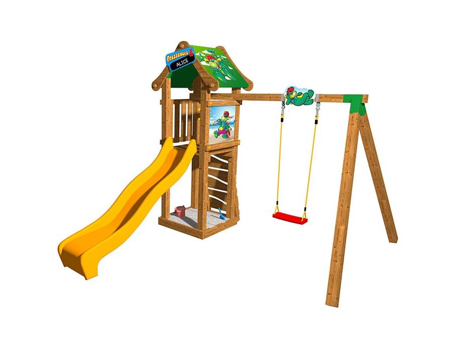 Scivolo prezzemolo swing giochi per giardino